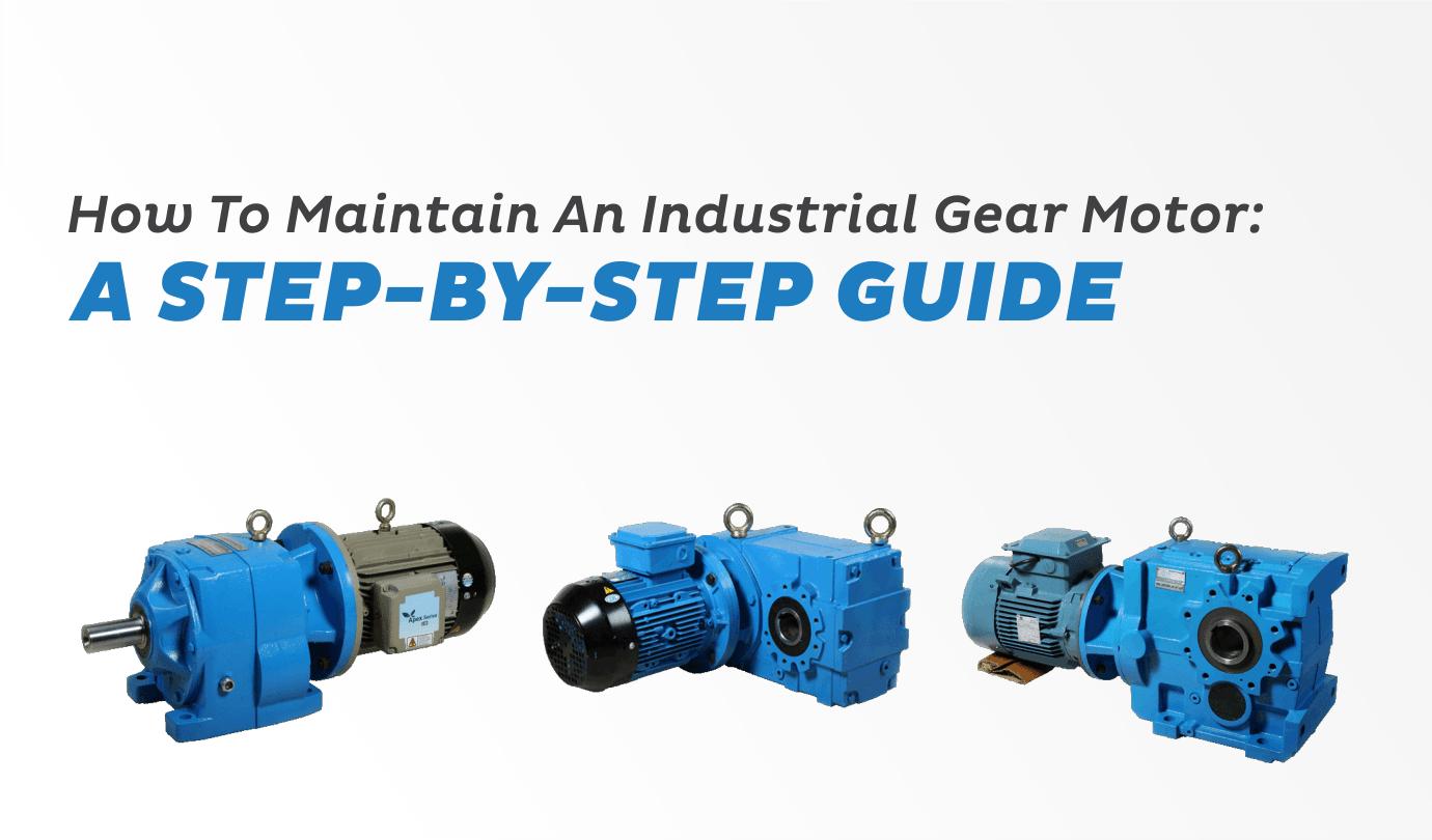 Industrial Gear Motor - Premium Transmission